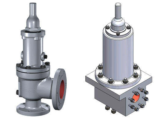 Consolidated Type 1900 Dual Media (DM) Safety Relief Valve